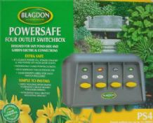 Blagdon Power Safe 4 Switch Box